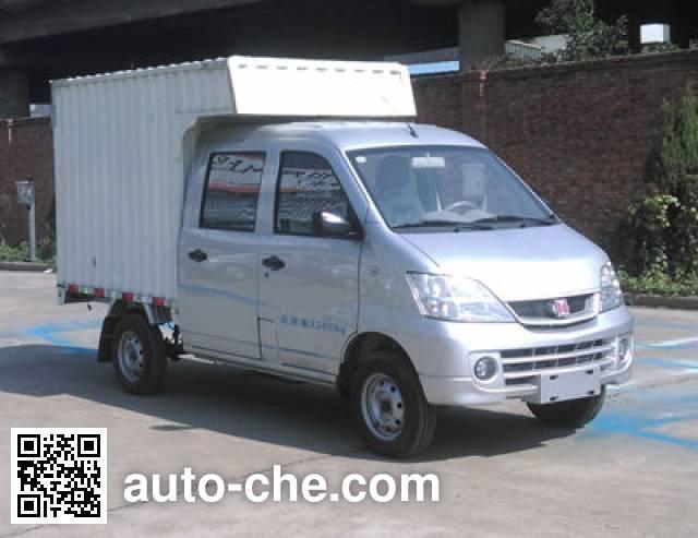 江铃牌JX5021XXYMSEV纯电动厢式运输车