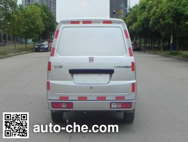 江铃牌JX5022XXYMEV纯电动厢式运输车