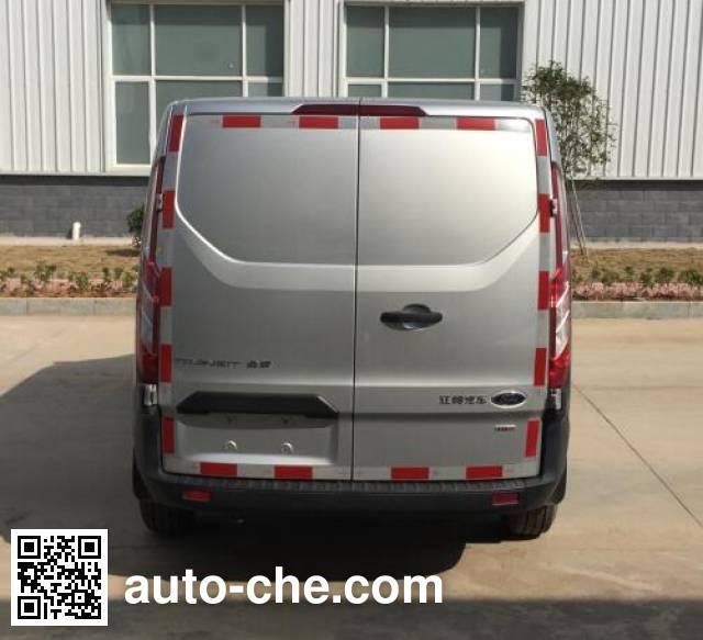 JMC Ford Transit JX5033XXYTDB-L5 box van truck