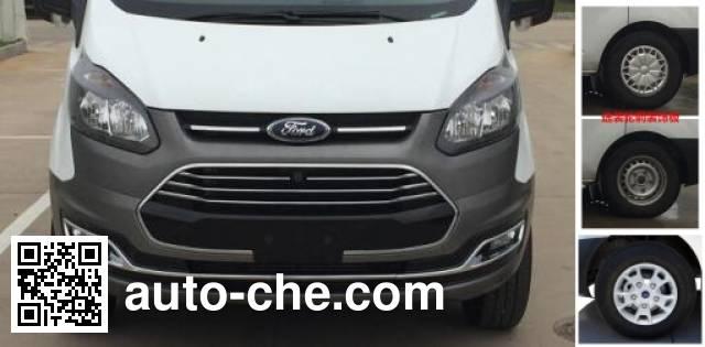 JMC Ford Transit JX5033XXYTD-L4 box van truck