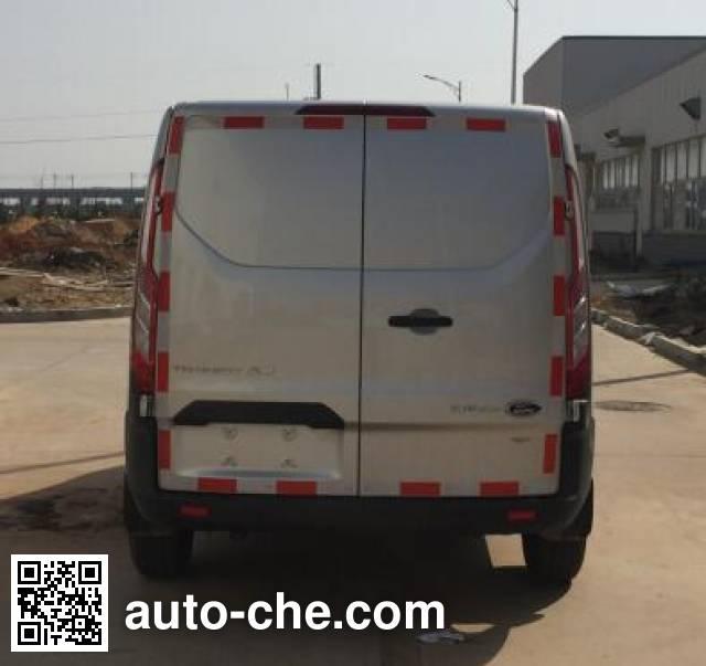 JMC Ford Transit JX5033XXYTDB-L4 box van truck