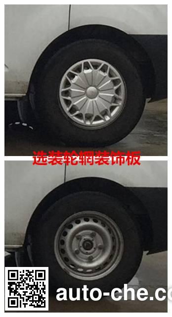 江铃全顺牌JX5033XXYTFA-M5厢式运输车