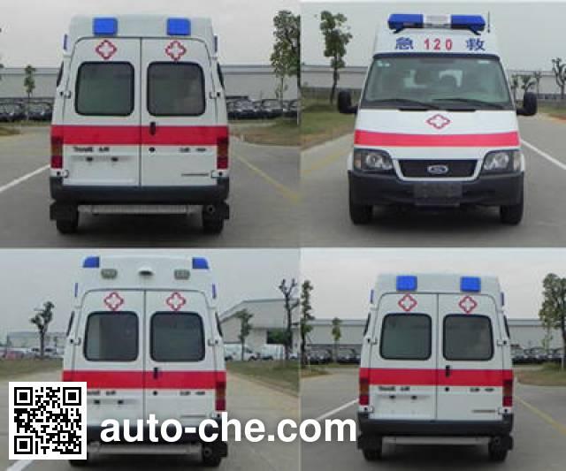 JMC Ford Transit JX5034XJHZCB ambulance