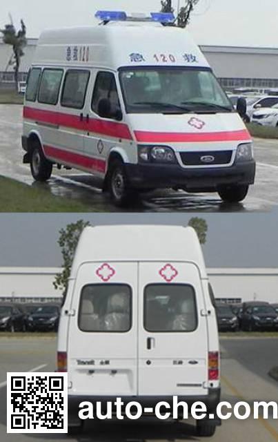 JMC Ford Transit JX5034XJHZD1 ambulance