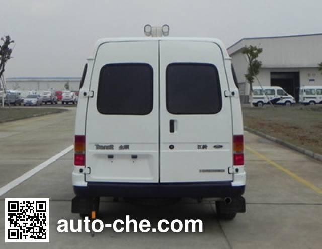 JMC Ford Transit JX5034XKCZB investigation team car
