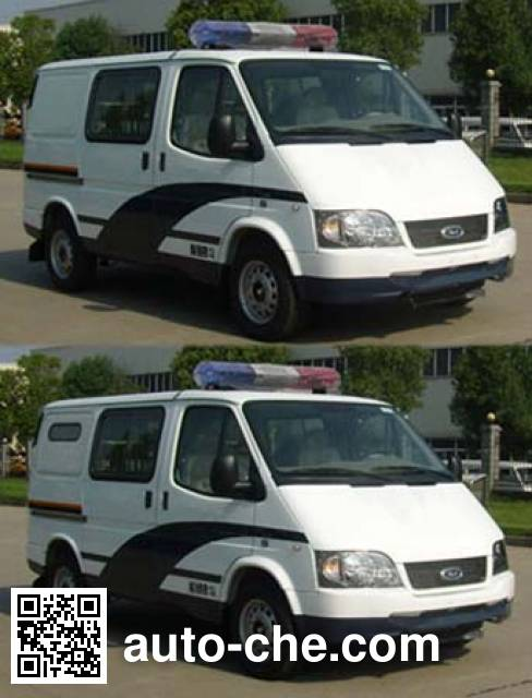 JMC Ford Transit JX5034XQCZA prisoner transport vehicle
