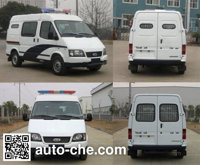 JMC Ford Transit JX5034XQCZB prisoner transport vehicle