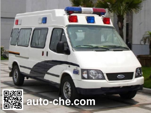 JMC Ford Transit JX5034XQCZCB prisoner transport vehicle