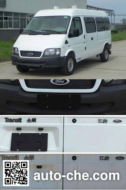 JMC Ford Transit JX5034XXCZCS family planning propaganda vehicle