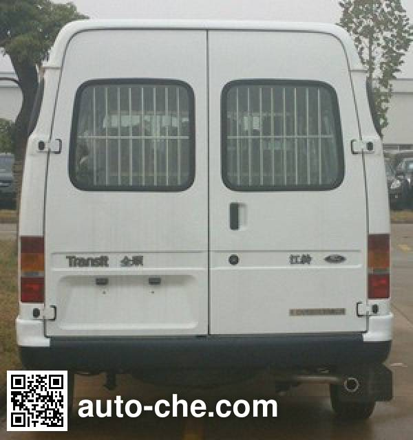 JMC Ford Transit JX5035XQCZJ prisoner transport vehicle