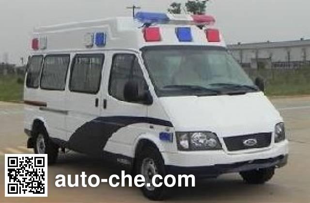JMC Ford Transit JX5035XQCZKA prisoner transport vehicle