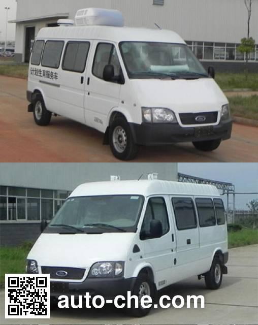 JMC Ford Transit JX5035XXCZKS family planning propaganda vehicle
