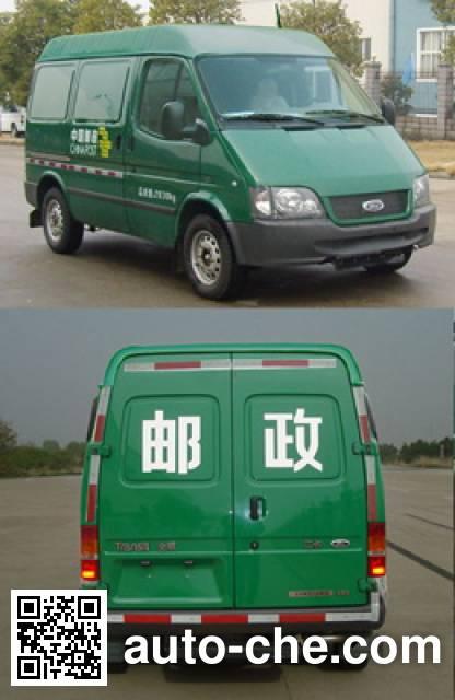 JMC Ford Transit JX5035XYZZJ postal vehicle