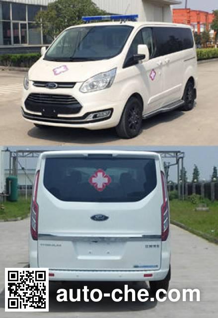 JMC Ford Transit JX5036XJHZJ ambulance
