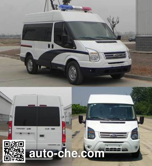 JMC Ford Transit JX5039XQCMB1 prisoner transport vehicle
