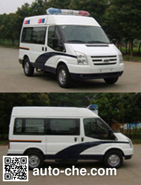 JMC Ford Transit JX5039XQCMB1 prisoner transport vehicle