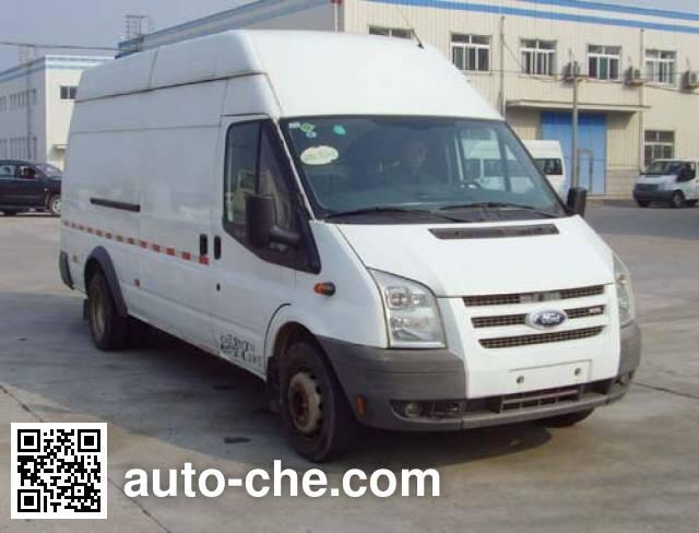 JMC Ford Transit JX5041XXYTJA-S4 box van truck