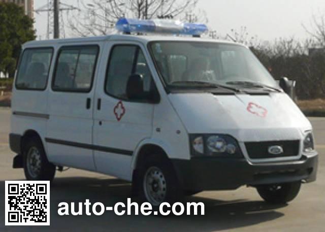 江铃全顺牌JX5044XJHMA救护车