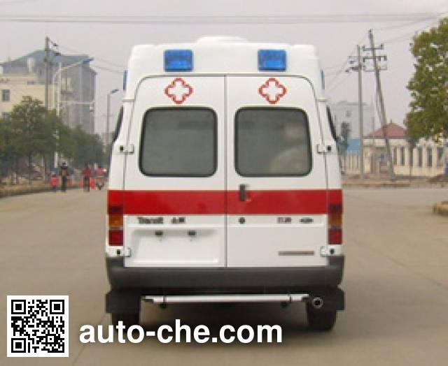 JMC Ford Transit JX5044XJHMCB ambulance