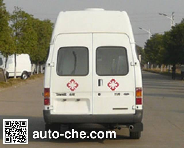 江铃全顺牌JX5044XJHMF救护车