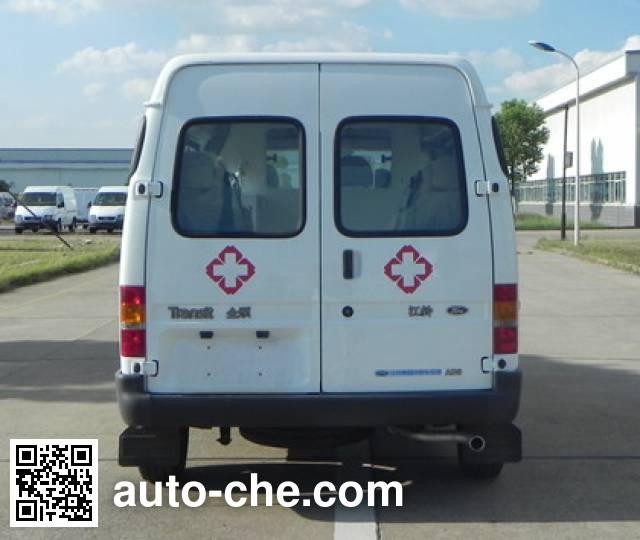 江铃全顺牌JX5044XJHMJ救护车