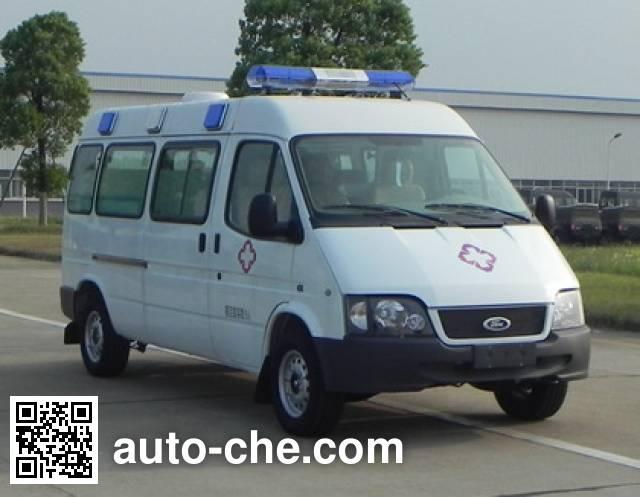 JMC Ford Transit JX5044XJHMK ambulance
