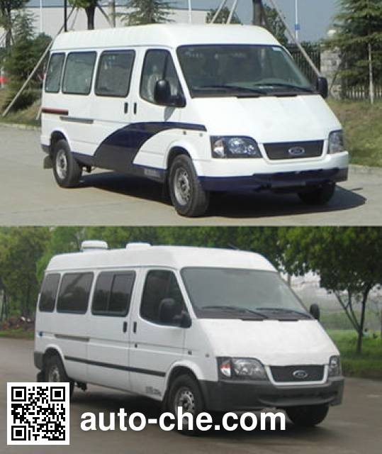 JMC Ford Transit JX5044XKCMC investigation team car