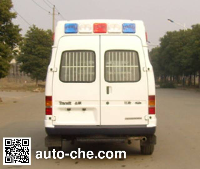 JMC Ford Transit JX5044XQCMCB prisoner transport vehicle
