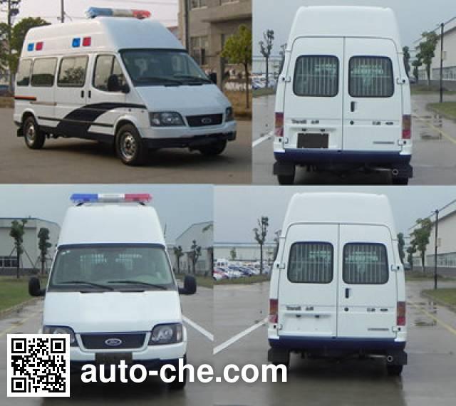 JMC Ford Transit JX5044XQCMD prisoner transport vehicle