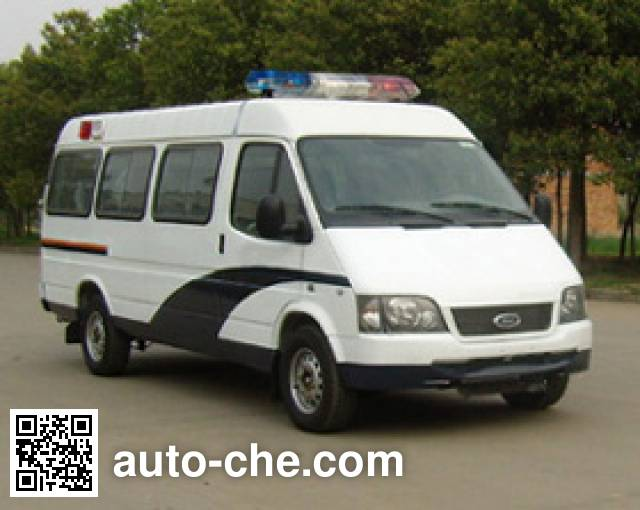 JMC Ford Transit JX5044XQCME prisoner transport vehicle