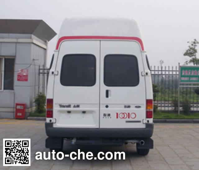 JMC Ford Transit JX5044XXCMD propaganda van