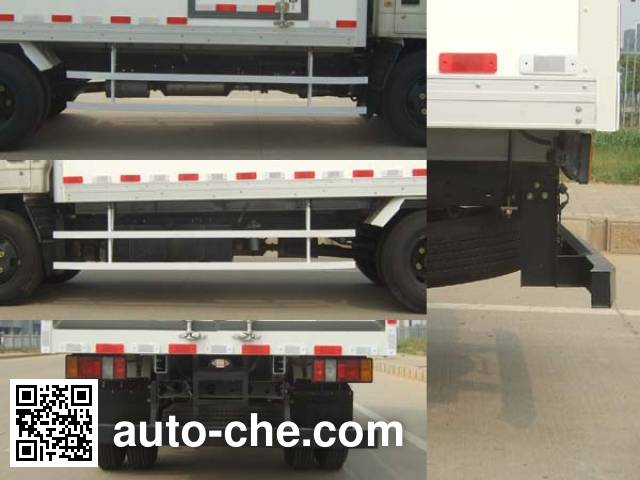 JMC JX5045XBWXG2 insulated box van truck