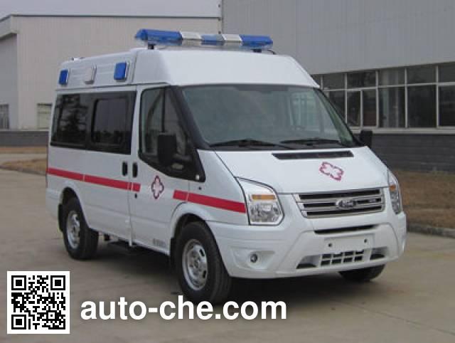 JMC Ford Transit JX5049XJHMB4 ambulance