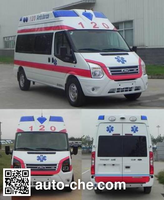 JMC Ford Transit JX5049XJHMCC ambulance