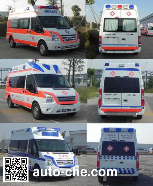 JMC Ford Transit JX5049XJHMD ambulance
