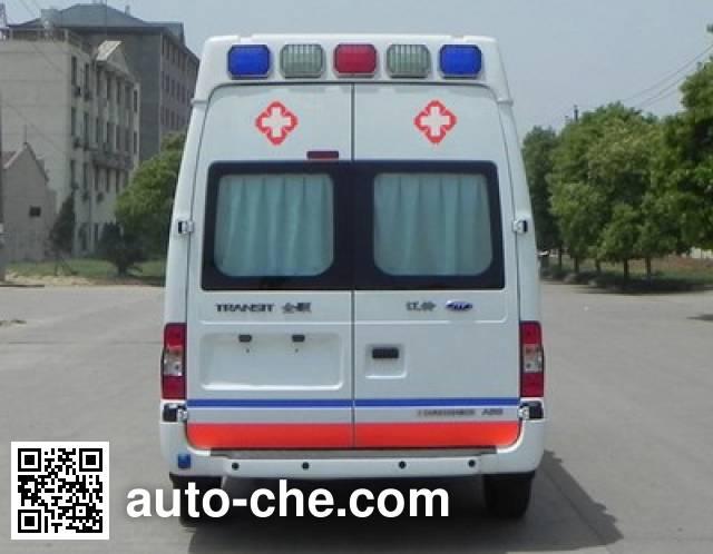 江铃牌JX5049XJHMDJ救护车