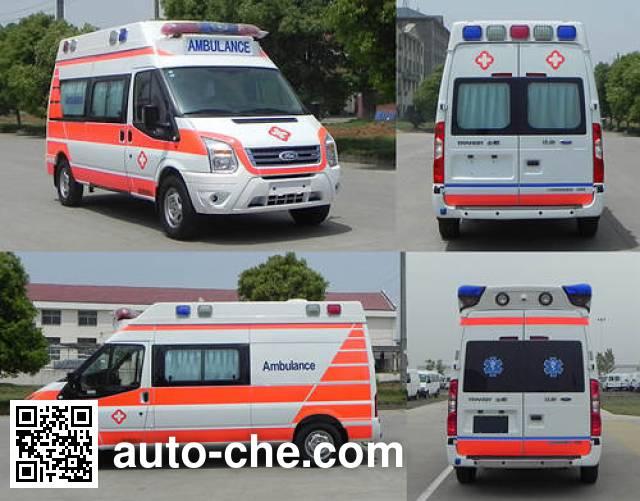 JMC Ford Transit JX5049XJHMKA ambulance