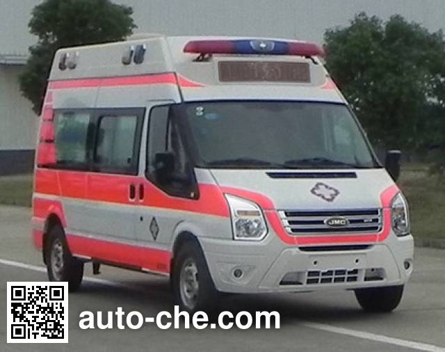 江铃牌JX5049XJHMKJA救护车