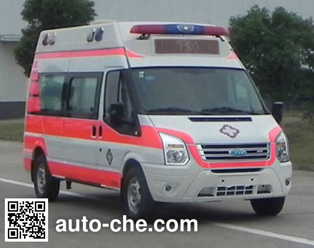 江铃牌JX5049XJHMKJB救护车