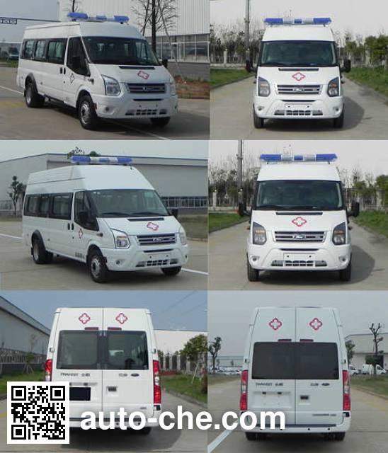 JMC Ford Transit JX5049XJHML2 автомобиль скорой медицинской помощи