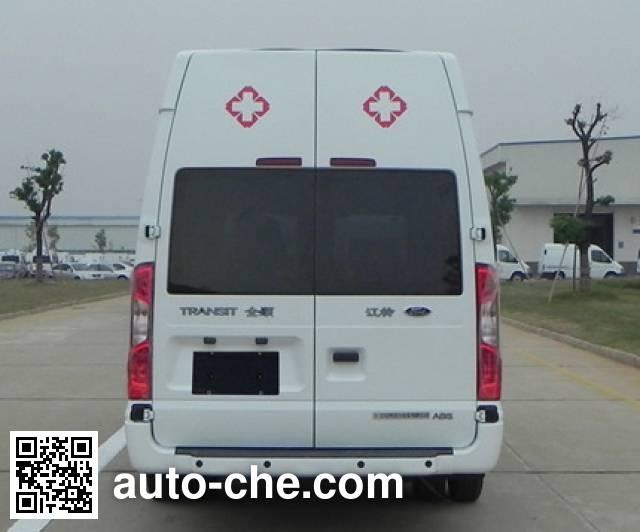 JMC Ford Transit JX5049XJHML23 ambulance