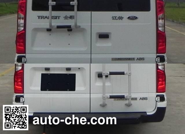 JMC Ford Transit JX5049XKCMF2 investigation team car
