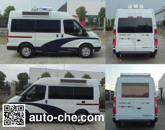 JMC Ford Transit JX5049XKCMJ investigation team car