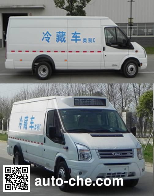 江铃全顺牌JX5049XLCML2冷藏车