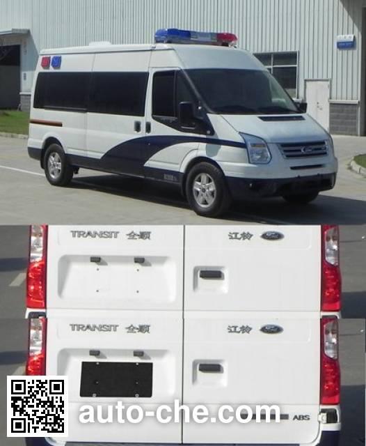 JMC Ford Transit JX5049XQCMC prisoner transport vehicle