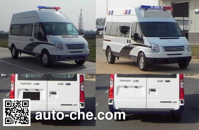 JMC Ford Transit JX5049XQCMD prisoner transport vehicle