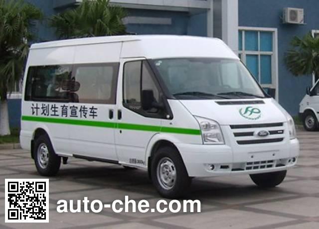 江铃全顺牌JX5049XXCMCS计划生育宣传车
