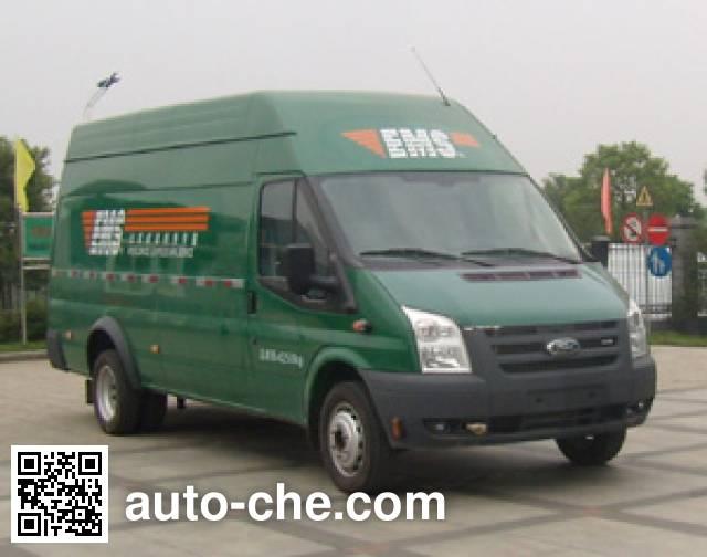 JMC Ford Transit JX5049XYZMF24 postal vehicle