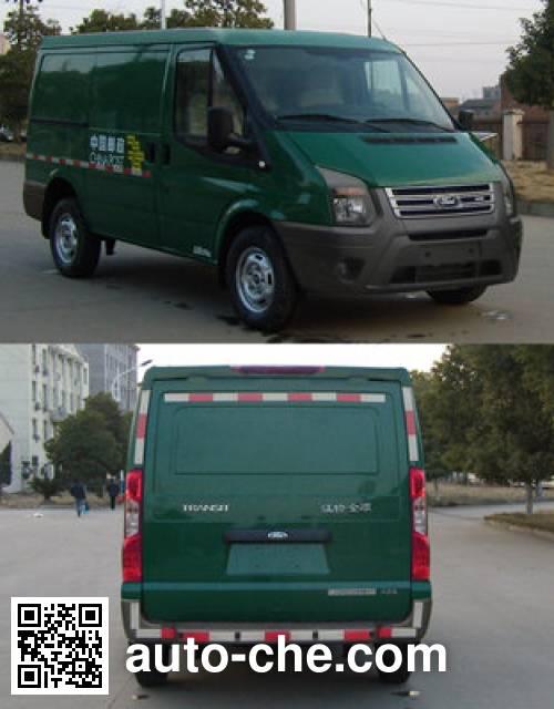 JMC Ford Transit JX5049XYZMJ postal vehicle