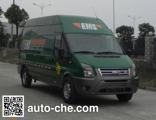 JMC Ford Transit JX5049XYZMK postal vehicle